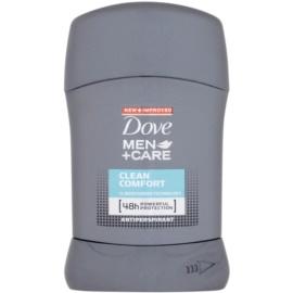 Dove Men+Care Clean Comfort tuhý antiperspitant 48h  50 ml