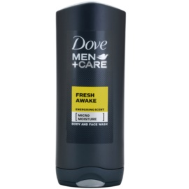 Dove Men+Care Fresh Awake Duschgel für Gesicht & Körper  400 ml