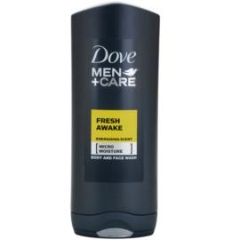 Dove Men+Care Fresh Awake gel de ducha para rostro y cuerpo  400 ml