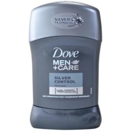 Dove Men+Care Silver Control tuhý antiperspitant 48h  50 ml
