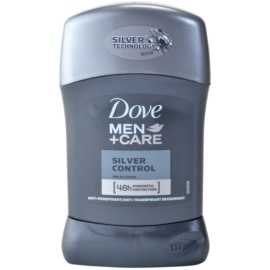 Dove Men+Care Silver Control festes Antitranspirant 48h  50 ml