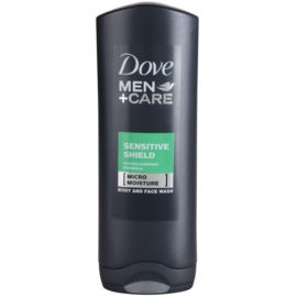 Dove Men+Care Sensitive Clean gel za prhanje  250 ml