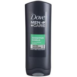 Dove Men+Care Sensitive Clean gel za prhanje  250 ml