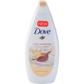 Dove Purely Pampering Shea Butter пяна за вана  масло от шеа и ванилия  500 мл.