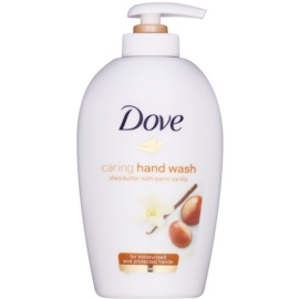Dove Purely Pampering Shea Butter mydło w płynie z dozownikiem masło shea i wanilia   250 ml