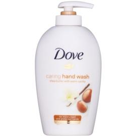 Dove Purely Pampering Shea Butter tekuté mydlo s pumpičkou bambucké maslo a vanilka  250 ml
