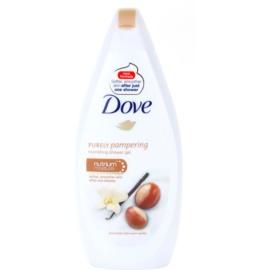 Dove Purely Pampering Shea Butter vyživující sprchový gel  500 ml