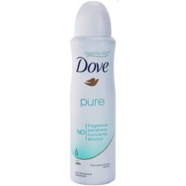 Dove Pure desodorante antitranspirante en spray 48h  150 ml