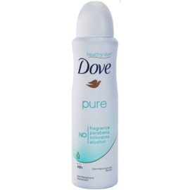 Dove Pure deodorant spray antiperspirant 48h  150 ml