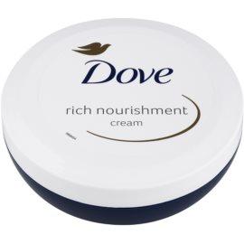 Dove Rich Nourishment tápláló testápoló krém hidratáló hatással  150 ml
