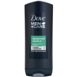 Dove Men+Care Sensitive Shield test és arcmosó   400 ml