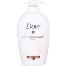 Dove Silk Fine Liquid Soap With Pump White Orchid  250 ml