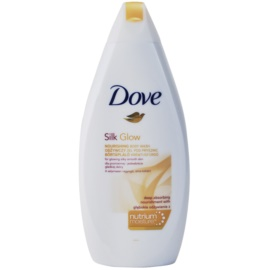 Dove Silk Glow Nourishing Shower Gel for Soft and Smooth Skin  500 ml