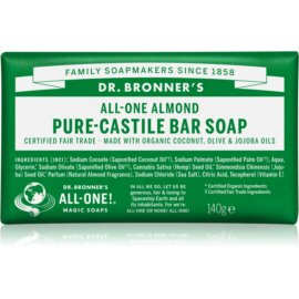 Dr. Bronner's Almond mydło w kostce  140 g