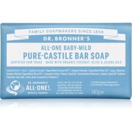 Dr. Bronner's Baby-Mild mydło w kostce nieperfumowane  140 g