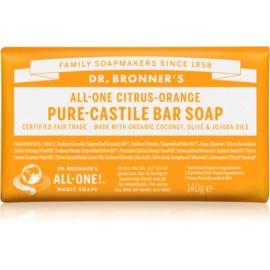 Dr. Bronner's Citrus & Orange tuhé mýdlo  140 g