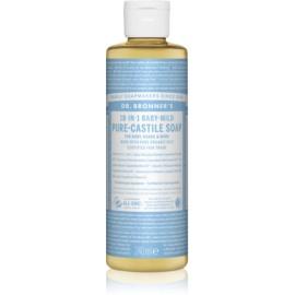 Dr. Bronner's Baby-Mild uniwersalne mydło w płynie nieperfumowane  240 ml