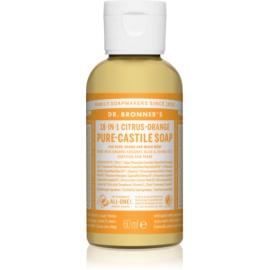 Dr. Bronner's Citrus & Orange uniwersalne mydło w płynie  60 ml