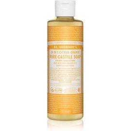 Dr. Bronner's Citrus & Orange uniwersalne mydło w płynie  240 ml