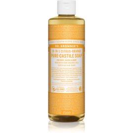 Dr. Bronner's Citrus & Orange uniwersalne mydło w płynie 475 ml
