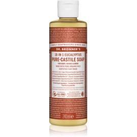 Dr. Bronner's Eucalyptus uniwersalne mydło w płynie  240 ml