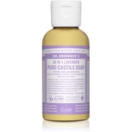 Dr. Bronner's Lavender uniwersalne mydło w płynie  60 ml