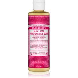 Dr. Bronner's Rose uniwersalne mydło w płynie  240 ml