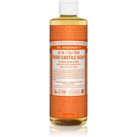 Dr. Bronner's Tea Tree uniwersalne mydło w płynie 475 ml