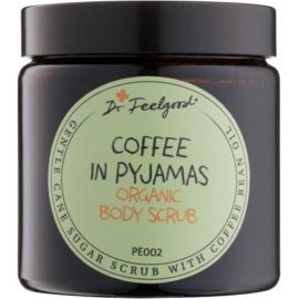 Dr. Feelgood BIO peeling de açúcar com óleo de grãos de café  120 ml