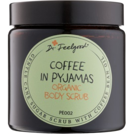 Dr. Feelgood BIO cukrový peeling s olejom z kávových bôbov  120 ml