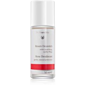 Dr. Hauschka Body Care růžový deodorant roll-on  50 ml