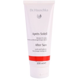 Dr. Hauschka After Sun Hydraterende Melk  Verlengd de Bruining   100 ml