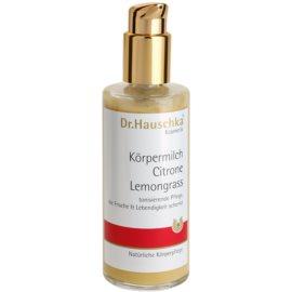Dr. Hauschka Body Care hydratisierende Körpermilch mit Zitrone und Zitronengras  145 ml