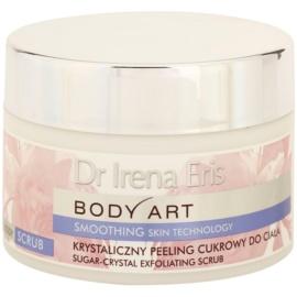 Dr Irena Eris Body Art Smoothing Skin Technology Hautpeeling mit Zucker  220 g