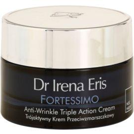 Dr Irena Eris Fortessimo 45+ nočna gladilna krema proti gubam  50 ml