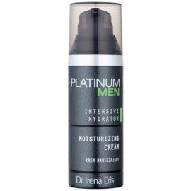 Dr Irena Eris Platinum Men Intensive Hydrator Moisturising Cream For Face And Eye Area  50 ml