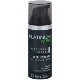Dr Irena Eris Platinum Men Aftershave Repair baume après-rasage pour apaiser la peau  50 ml