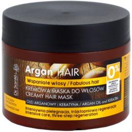 Dr. Santé Argan máscara cremosa para cabelo danificado  300 ml