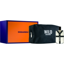 Dsquared2 Wild Gift Set  IV.  Eau de Toilette 50 ml + Cosmetica tas  1 ks