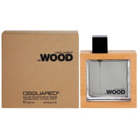 Dsquared2 He Wood Eau de Toilette para homens 100 ml