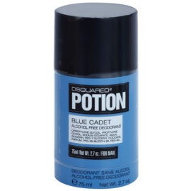 Dsquared2 Potion Blue Cadet Deodorant Stick for Men 75 ml (Alcohol Free)