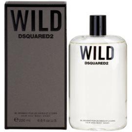 Dsquared2 Wild gel de dus pentru barbati 200 ml