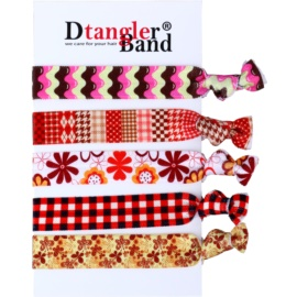 Dtangler DTG Band Set ластици за коса 5 бр  5 бр.