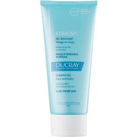 Ducray Keracnyl Purifying Foam Gel For Oily Acne - Prone Skin  200 ml