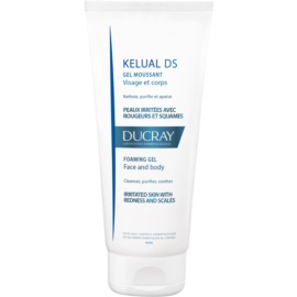 Ducray Kelual DS Foaming Cleansing Gel for Irritated Skin For Face And Body  200 ml