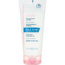 Ducray Ictyane Foaming Cleansing Gel For Normal And Dry Skin  200 ml