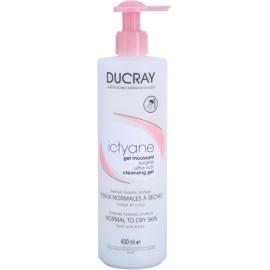 Ducray Ictyane penasti čistilni gel za normalno in suho kožo  400 ml
