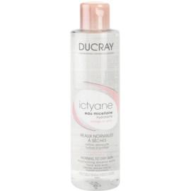 Ducray Ictyane agua micelar limpiadora para rostro y ojos  200 ml