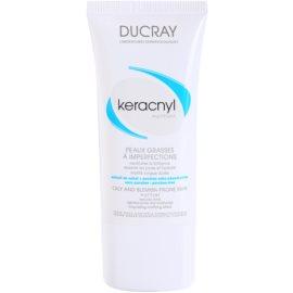 Ducray Keracnyl matirajoča krema za mastno kožo  30 ml