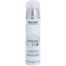 Ducray Melascreen crema de noche nutritiva para eliminar manchas de pigmentación y arrugas  50 ml